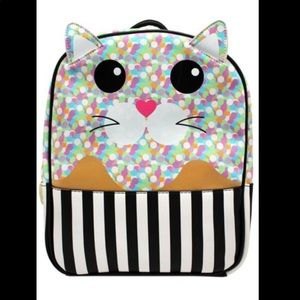 Kitty Cat Confetti Betsey Johnson Backpack LOVE✨💋